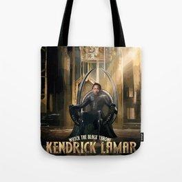 Kendrick - Watch The Black Throne Tote Bag