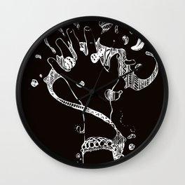 La mano negra Wall Clock