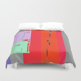 breach in the memory system Duvet Cover