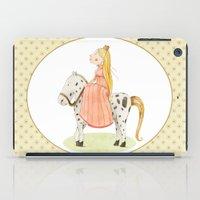 princess iPad Cases featuring Princess by Judith Loske