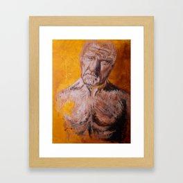 Weight Framed Art Print
