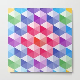 Hexagon - 01  Metal Print