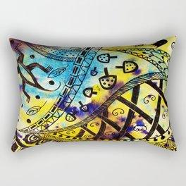 South Africa Print 1 Rectangular Pillow
