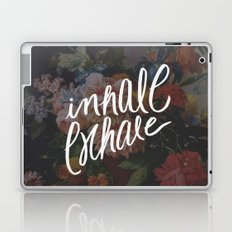 INHALE/EXHALE Laptop & iPad Skin