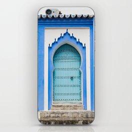Doors - Chefchaouen, Morocco iPhone Skin