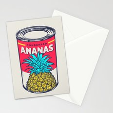 Condensed ananas Stationery Cards