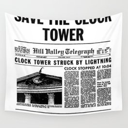 Save the Clock Tower Wall Tapestry
