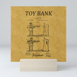 Toy Bank Patent 11 Mini Art Print