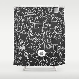 Doodle On, No. 1 Shower Curtain