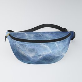 Blue storm Fanny Pack