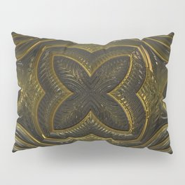 Old Metal Ornament Pillow Sham