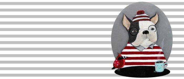 Waldo the Boston Terrier Coffee Mug