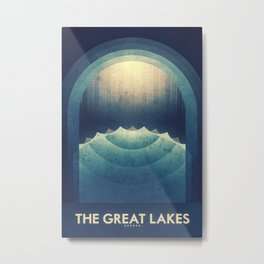 Europa - The Great Lakes Metal Print