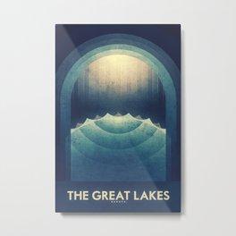 Europa - The Great Lakes Metal Print