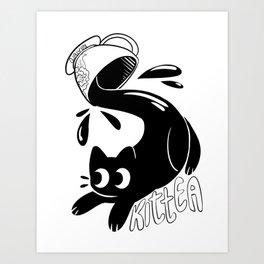 Kittea Art Print