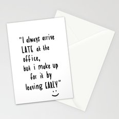 Office hours Stationery Cards
