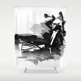 Alfred Brendel - Pianist Shower Curtain