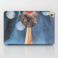 voyage iPad Cases featuring VOYAGE by cedar q waxwing