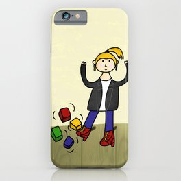 Metal Head Kid  iPhone Case