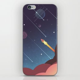 Out there  iPhone Skin