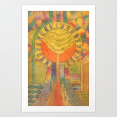 Eden 2 Art Print