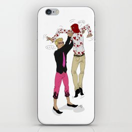 Awkward sibling love - One Piece iPhone Skin