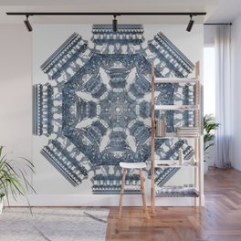Fractal Art - Tiki Bue I Wall Mural