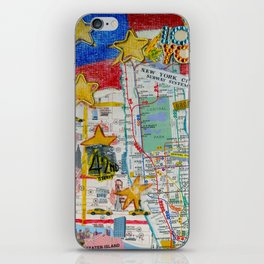 New York City Collage iPhone Skin