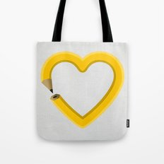 Love to draw Tote Bag