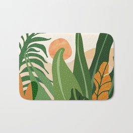 Desert Garden Sunset Bath Mat