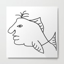 Fishman Metal Print