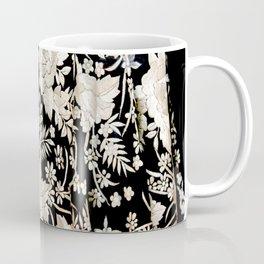 Black and White Flowers by Lika Ramati Coffee Mug