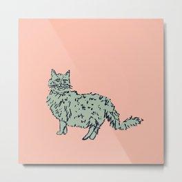 Animal Series - Cat Metal Print