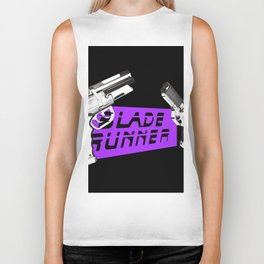 Time to die Version Neon Purple Biker Tank