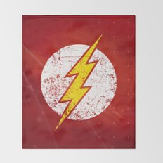 Flash classic Throw Blanket