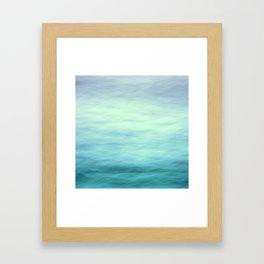 Ocean Blues - II Framed Art Print
