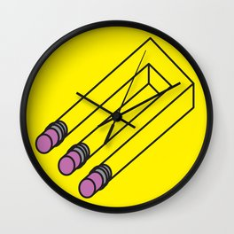 Illusion of Mistakes Wall Clock
