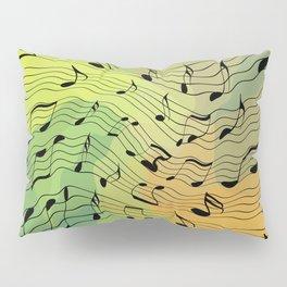 Music notes II Pillow Sham