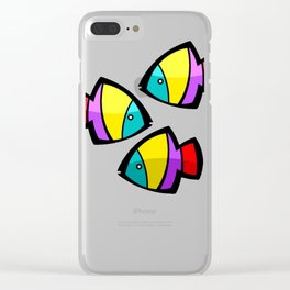 Color Fisch. Clear iPhone Case