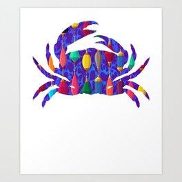 Crab 243 Art Print