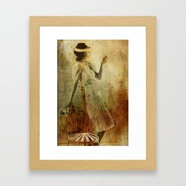 In Vogue Framed Art Print