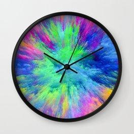 multicolor Wall Clock