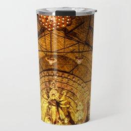 Durga pandal Travel Mug