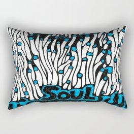 Blue Soul Rectangular Pillow