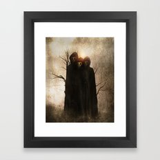 Darkness II Framed Art Print