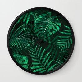 Amazon rain forest Wall Clock