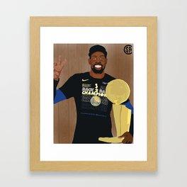 KD Finals MVP Framed Art Print