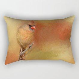 Backyard Jewel Rectangular Pillow