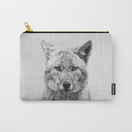 Coyote - Black & White Carry-All Pouch