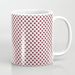 Rosewood Polka Dots Coffee Mug